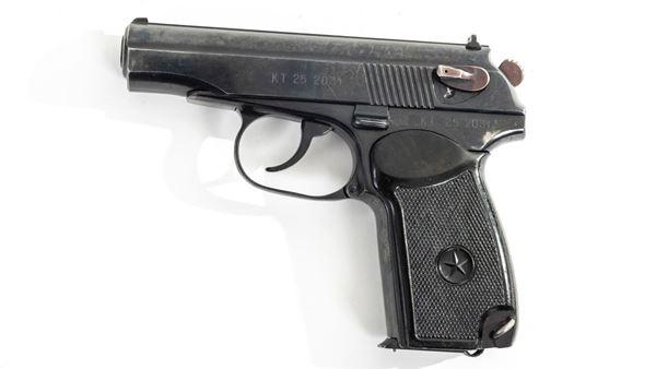 Picture of Arsenal KT252031 9x18mm Makarov 8 Round Bulgarian Pistol 1985