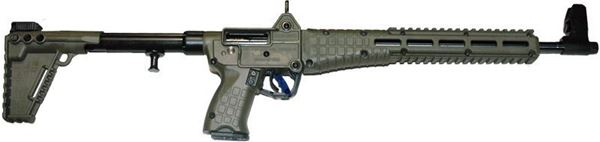Picture of KelTec SUB-2000 Glock 19 9mm 10rd M-LOK Compatible Blued Green Finish
