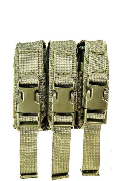 Picture of High Speed Gear Modular Pistol Mag Pouch Triple MOLLE