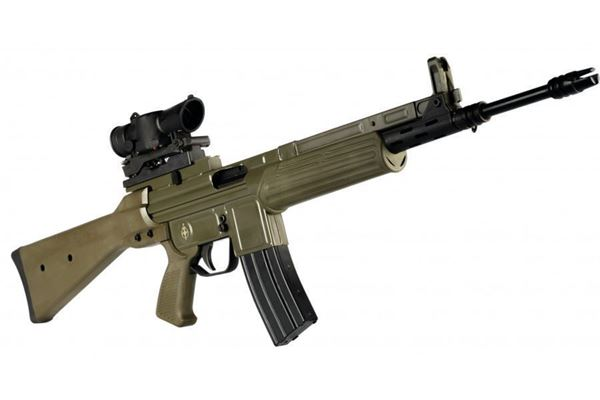 Picture of MarColMar CETME LV/S 223 Rifle with SUSAT 4X Scope 30rd Magazine