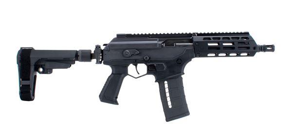 """Picture of IWI Galil Ace Pistol GEN2 5.56 NATO 8.3"""" Barrel 30RD FreeFloat MLOK Side Folding Stabilizer Brace"""