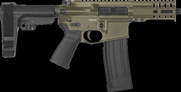 Picture of CMMG Banshee 300 Mk4 5.7x28mm OD Green Semi-Automatic 30 Round Pistol