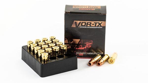 Picture of Barnes Vor -TAC-XP 9 mm Luger+P 200rd case (10 boxes)