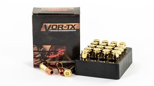 Picture of Barnes Vor TAC-XP 9mm Luger+P 20rd Box