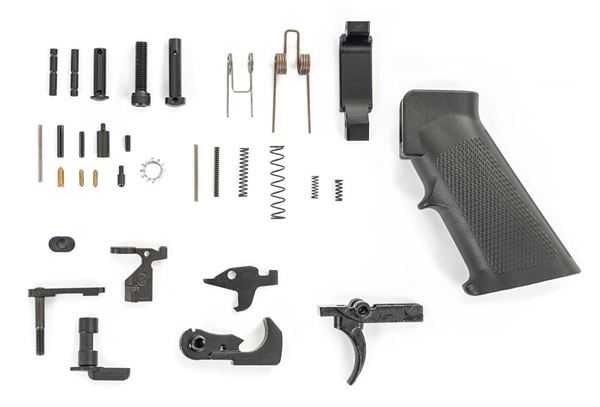 Picture of KAK Industry AR15 Lower Parts Kit - Clear Bag