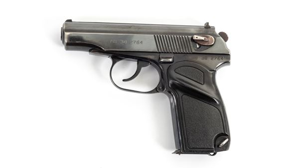Picture of Arsenal Makarov 8 Round Bulgarian Pistol 9x18mm Black Grip