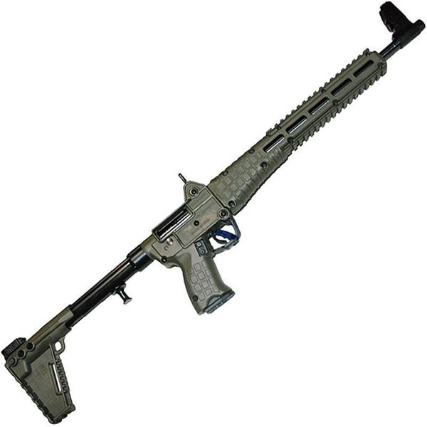 """Picture of Kel-Tec SUB2000  Blued Green for Glock 23 40Cal 16"""" Barrel 10 Round Semi-Automatic Rifle"""