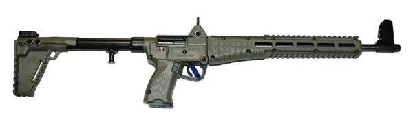 "Picture of Kel-Tec SUB2000 Blued Green for Glock 23 40Cal 16"" Barrel 13 Round Barrel Semi-Automatic Rifle"