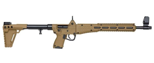 """Picture of Kel-Tec SUB2000 Blued Tan for Glock 23 40Cal 16"""" Barrel 13 Round Semi-Automatic Rifle"""