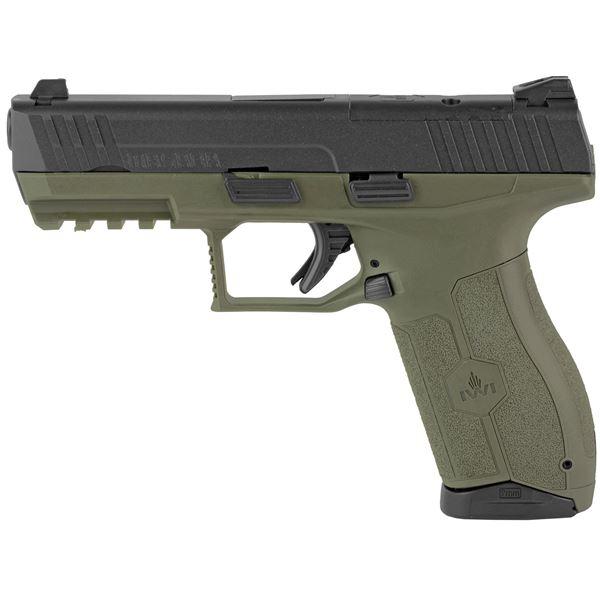 "Picture of IWI MASADA Optics Ready Pistol OD Green 9mm 4.1"" Barrel (2) 17RD Mag 3Dot Sight"