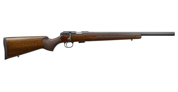 Picture of CZ 457 Varmint 22LR Walnut Bolt Action 5 Round Rifle