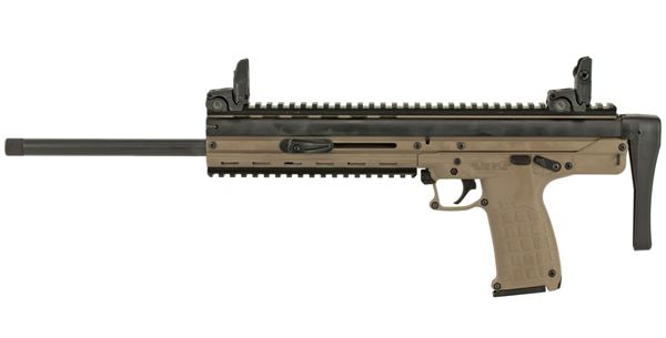 """Picture of CMR-30 .22 WMR Semi Auto Rifle 16"""" Barrel 30 Rounds Collapsible Stock Tan Finish"""