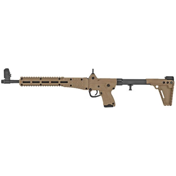 """Picture of SUB-2000 Glock 19 Rifle 16.25"""" 9mm 10rd M-LOK Compatible Blued Tan Finish"""